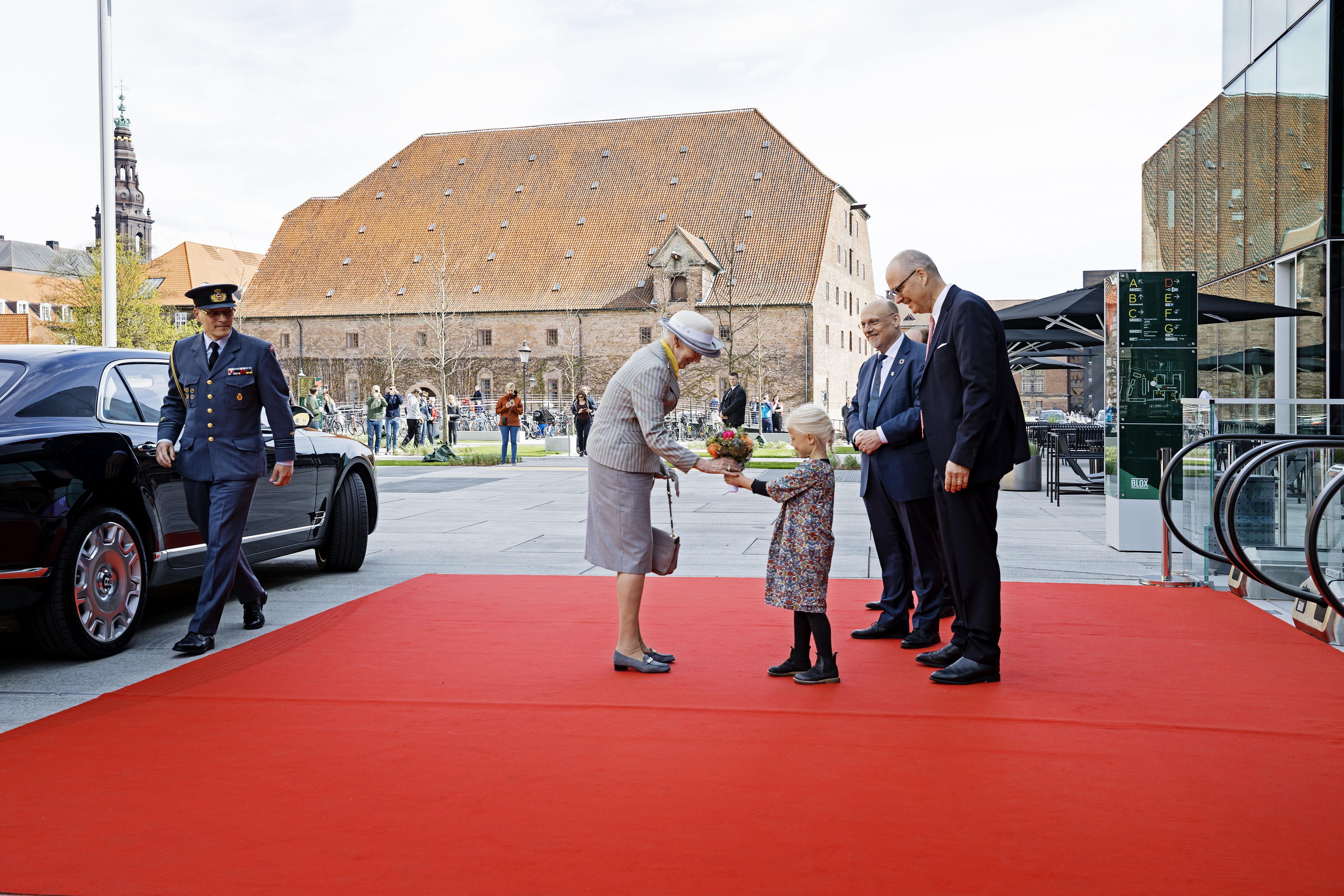 Dronningen Indviede Blox Søndag Er Der åbent Hus For Alle
