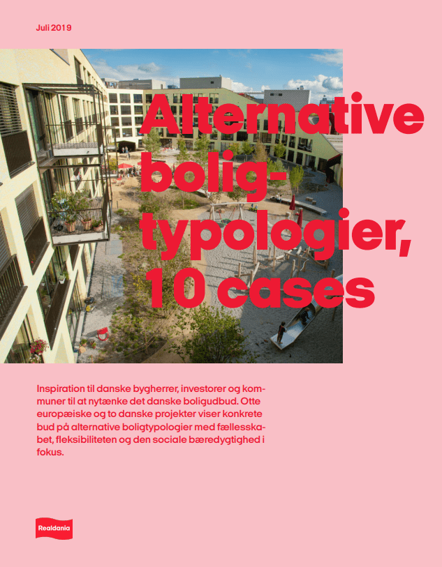 Alternative boligtypologier, 10 cases