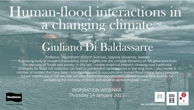 Webinar: Human-flood interactions in a changing climate