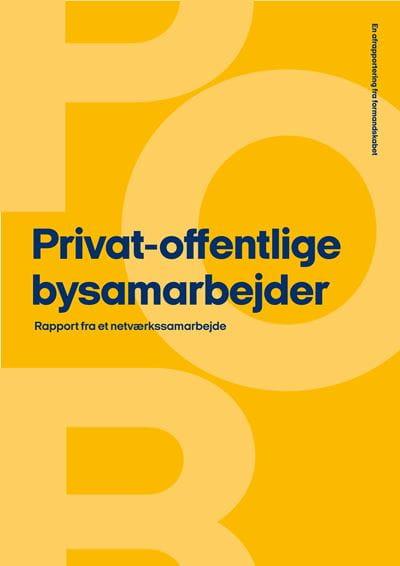 Privat-offentlige bysamarbejder - rapport