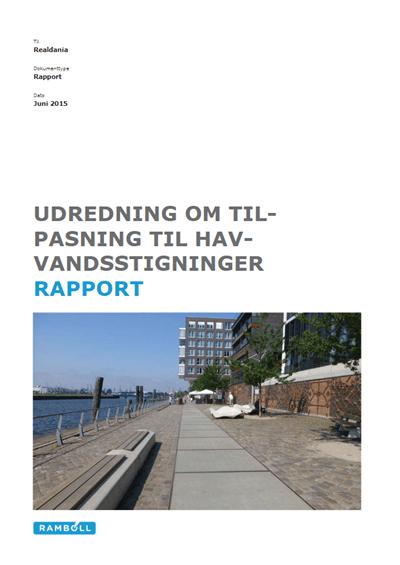 Udredning om tilpasning til havvandsstigninger - Rapport