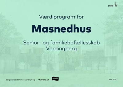 Værdiprogram for senior- og familiebofællesskab i Vordingborg
