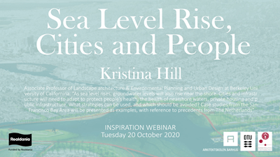 Webinar: Sea level rise, cities and people