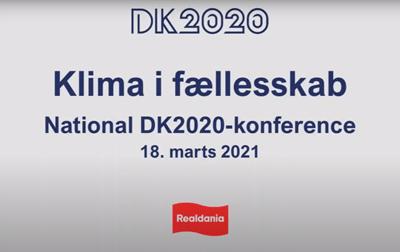DK2020 konference – Klima i fællesskab, 18. marts 2021