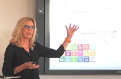 Helle Juul: Om projektet 'Fremtidens Urbane Sundhedskultur'